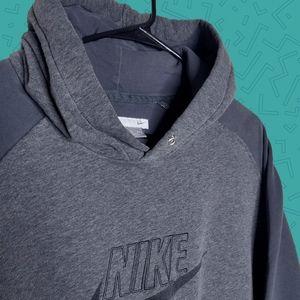 Vintage Nike Grey tag hoodie sweatshirt